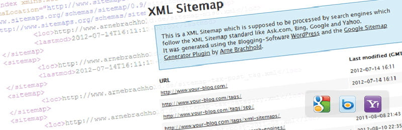 XML Sitemap - Google Search Console